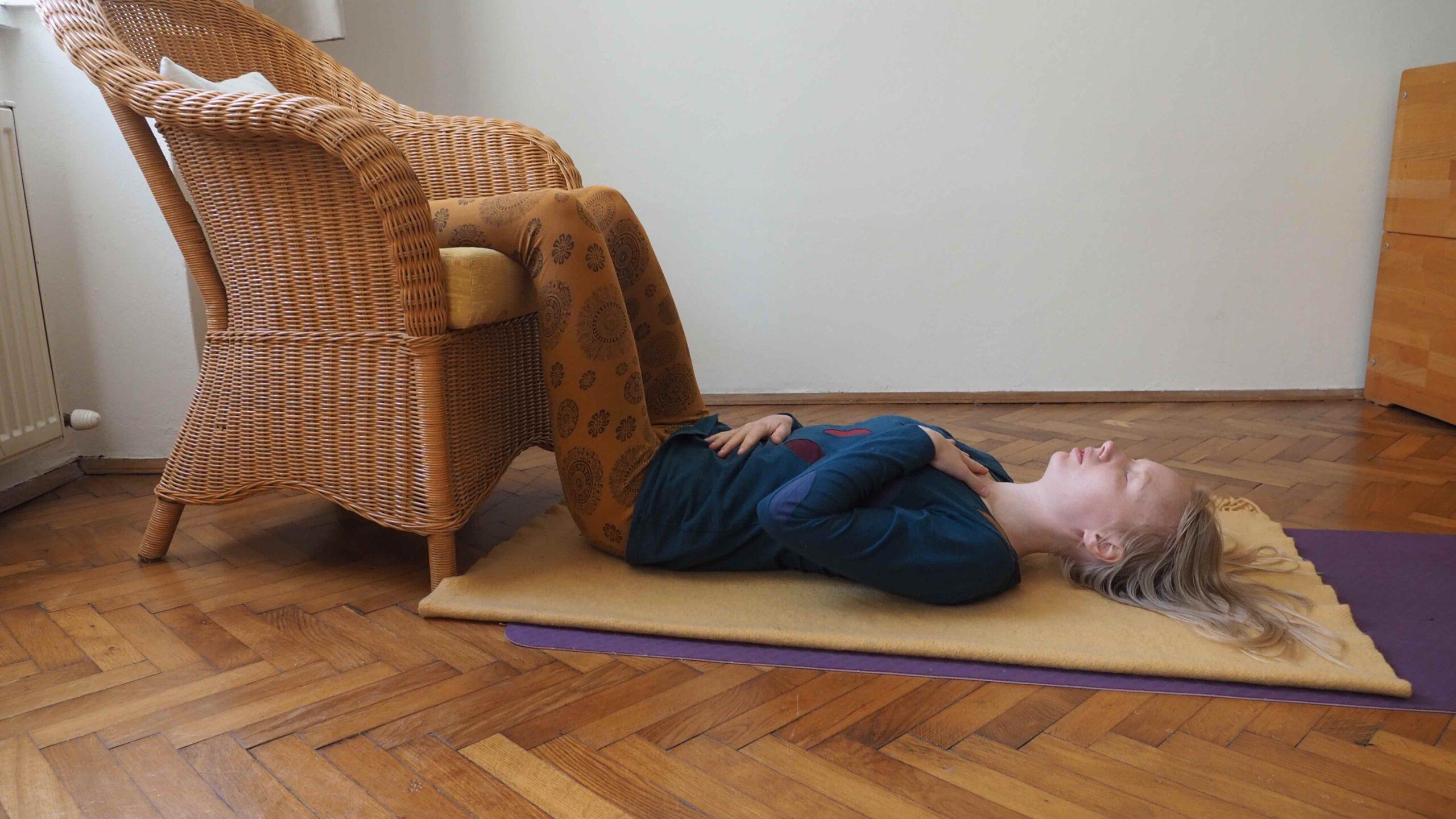 Entspannung in Rückenlage